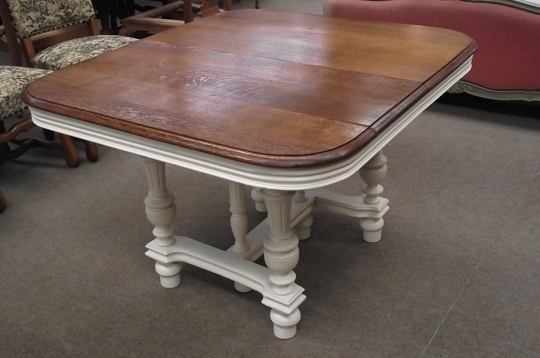 Including French Antique Tables, Extending Tables And More.